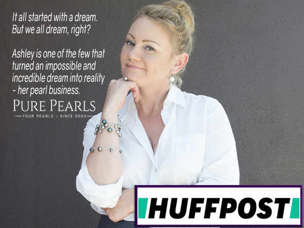 Ashley McNamara CEO of Pure Pearls LLC