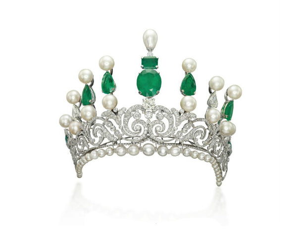 Crown Pearl Emerald