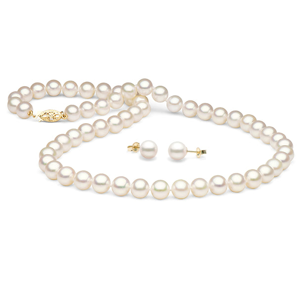 Pearl Anniversary Gift Ideas: Freshwater Pearl Jewelry Sets