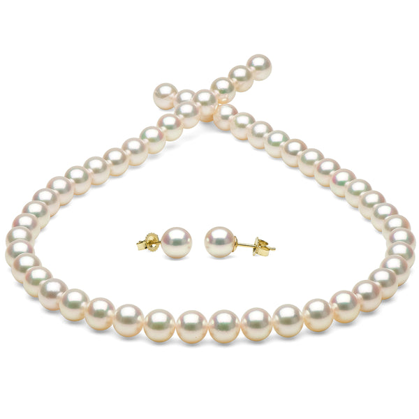 The PurePearls.com Wish List - Hanadama Necklace and Pearl Stud Earring Set