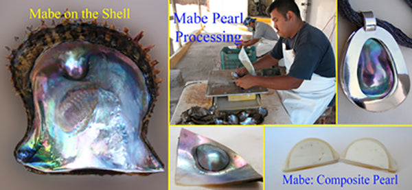 Collage Mabe Pearls