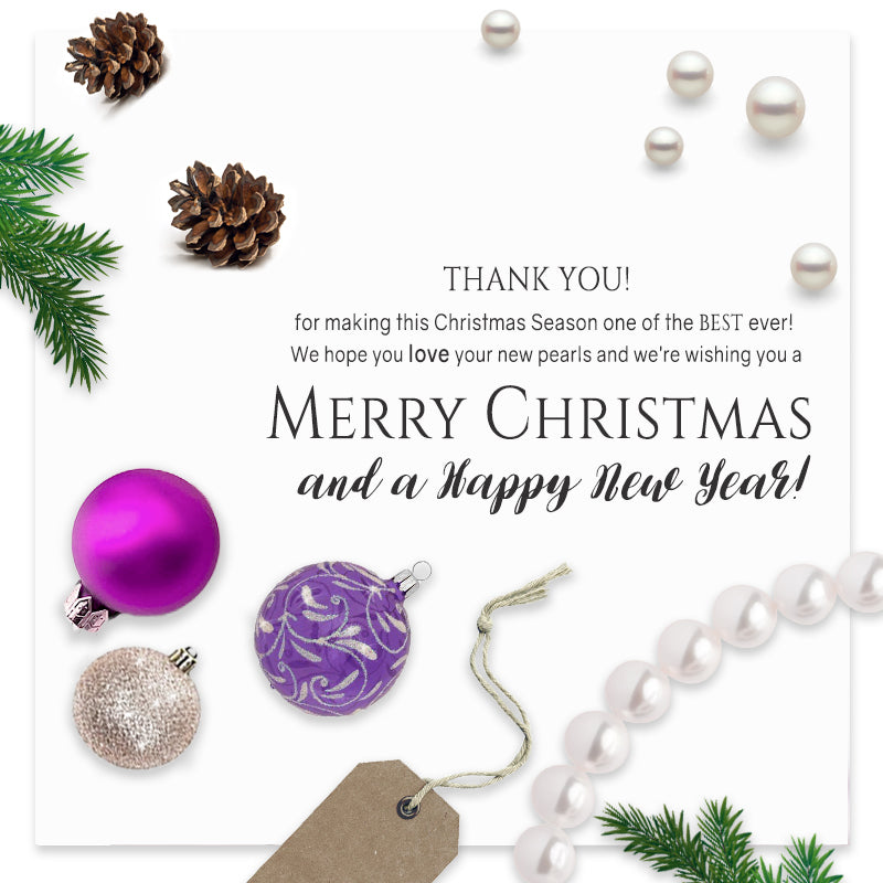 Merry Christmas from PurePearls.com