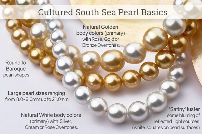 South Sea Pearl Jewelry Buyer's Guide - Pearl Basics