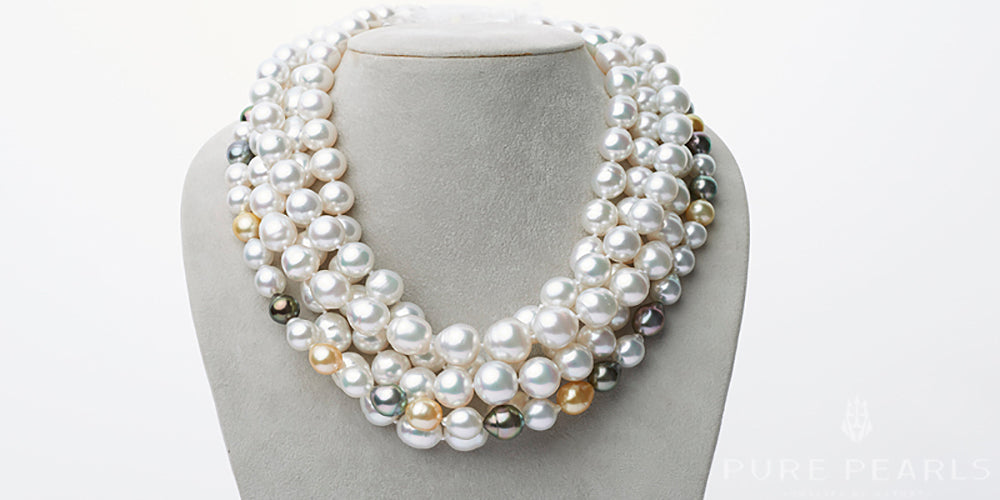Pearl Anniversary Gifts: South Sea Pearl Necklaces
