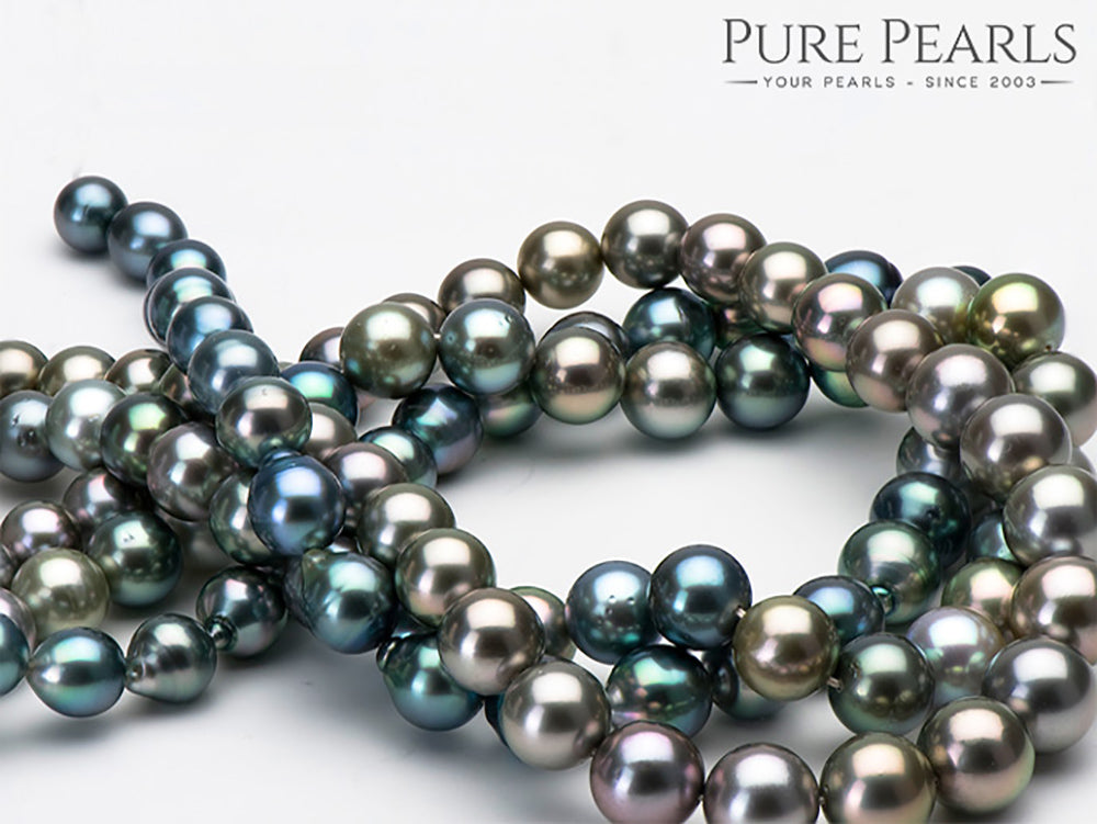 Tahitian Pearl Necklaces Glamour
