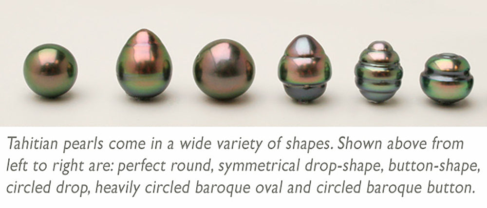 Tahitian Pearl Shapes