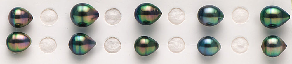 Intense Overtone Colors for Tahitian Pearls