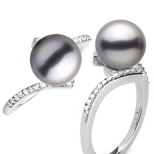 Product Spotlight: Tahitian Pearl and Diamond Bliss Ring