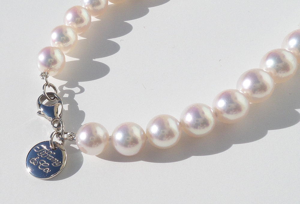 Tiffany Essential Collection Pearl Necklace Close-Up