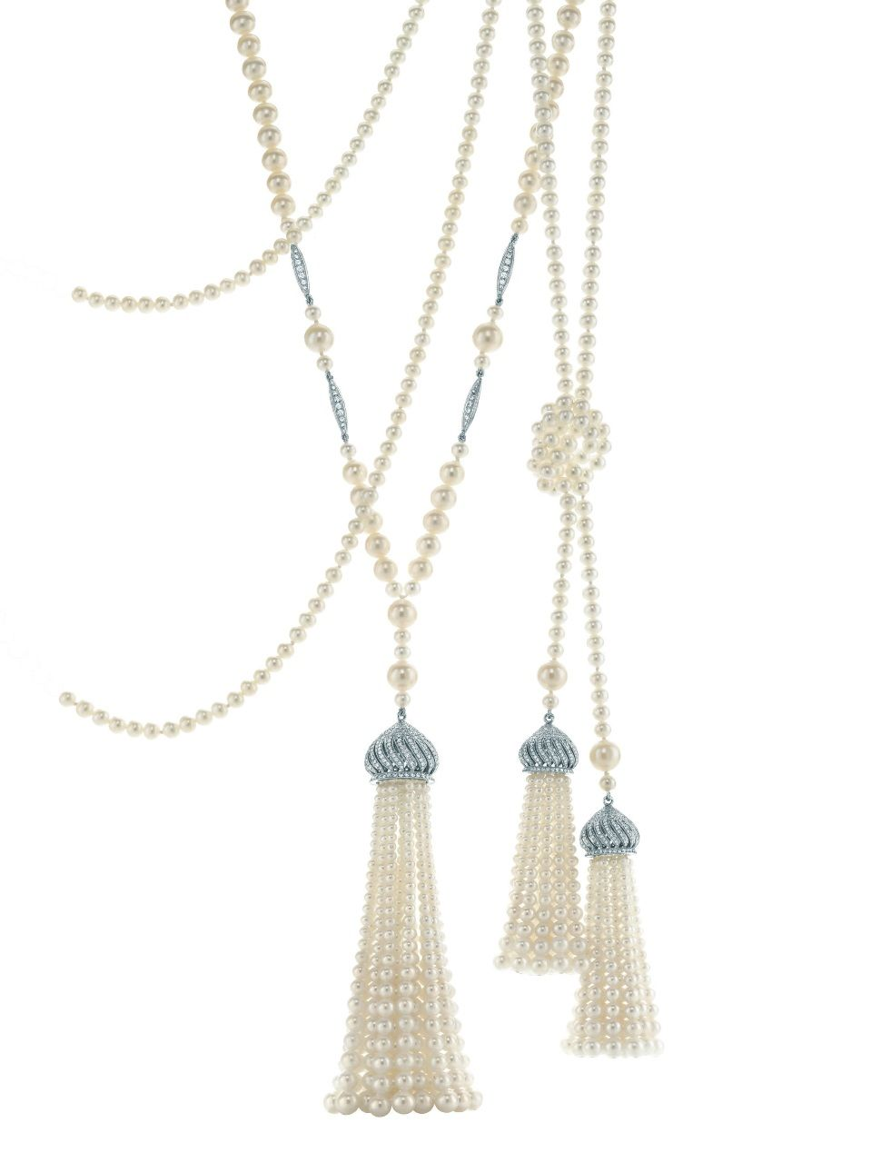 Tiffany Pearl Ropes Ziegfield Collection Great Gatsby