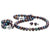 Black Freshwater Pearl 3-Piece Jewelry Set, 8.5-9.0mm