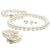 White Elite Collection 3-Piece Pearl Set, 8.5-9.0mm