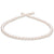 White Japanese Hanadama Akoya Pearl Necklace, 6.5-7.0mm