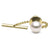White Akoya Pearl Tie Tack, 8.5-9.0mm