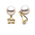 Akoya Pearl Clip-On Earrings, Sizes: 7.0-9.5mm