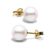 White Elite Collection Pearl Earrings, 7.5-8.0mm