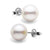 White Elite Collection Pearl Earrings, 8.5-9.0mm