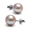 8.5-9.0mm Pearl Stud Earring Size as Shown on Model