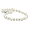 White Elite Collection Pearl Necklace, 9.0-9.5mm