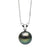 Black Freshwater Classic Pearl Pendant, 7.0-10.0mm