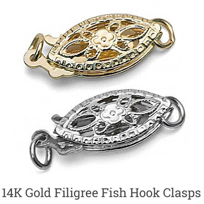 Choose Your Favorite 14K Gold Clasp