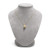 Golden South Sea Classic Solitaire Pearl Pendant, Sizes 10.0-14.0mm, Featured on Necklace Bust
