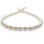 Light Rose White South Sea Circled Baroque Pearl Necklace, 18-Inch, 9.0-11.9mm, AA+ Quality