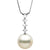 White South Sea Pearl and Diamond Constellation Pendant, Sizes: 10.0-14.0mm