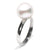 White South Sea Pearl Solitaire Ring, Sizes: 10.0-12.0mm