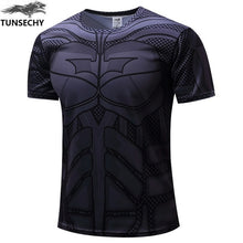 Mens Fitness T Shirt - Batman Black