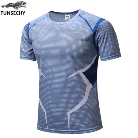 Mens Fitness T Shirt - Quick Silver