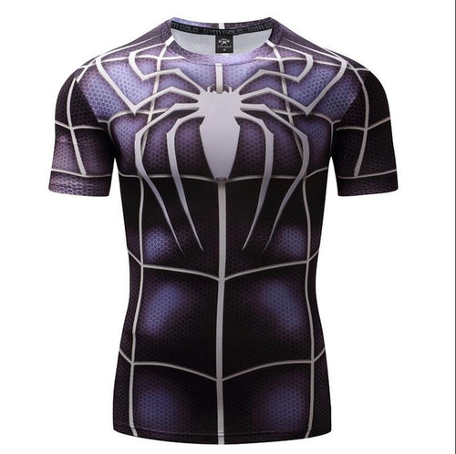 Mens Fitness T Shirt - Spiderman Venom Classic