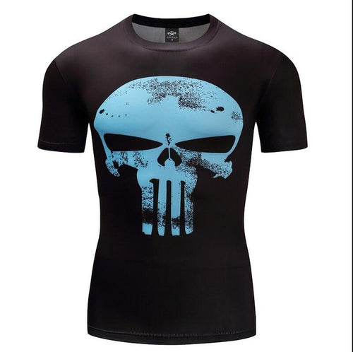 Mens Fitness T Shirt - Punisher