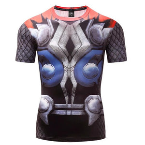 Mens Fitness T Shirt - Thor