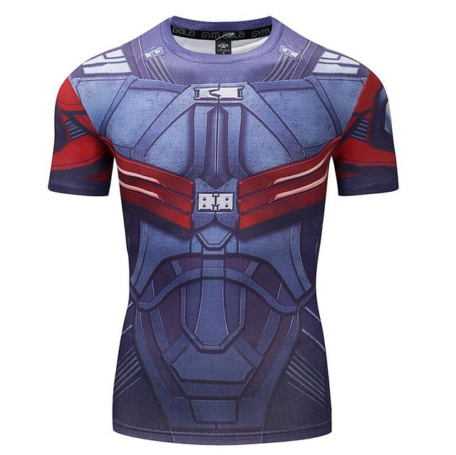 Mens Fitness T Shirt - Iron Patriot