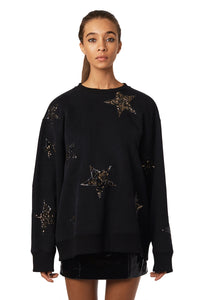 Star Sequin Sweatshirt