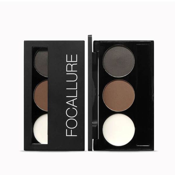 FOCALLURE Eyebrow Powder Palette #02