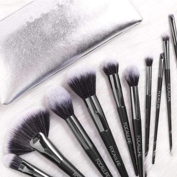 FOCALLURE 10Pcs Makeup Brushes Set