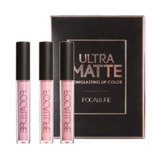 MATTE LIPSTICK 3pcs KIT2