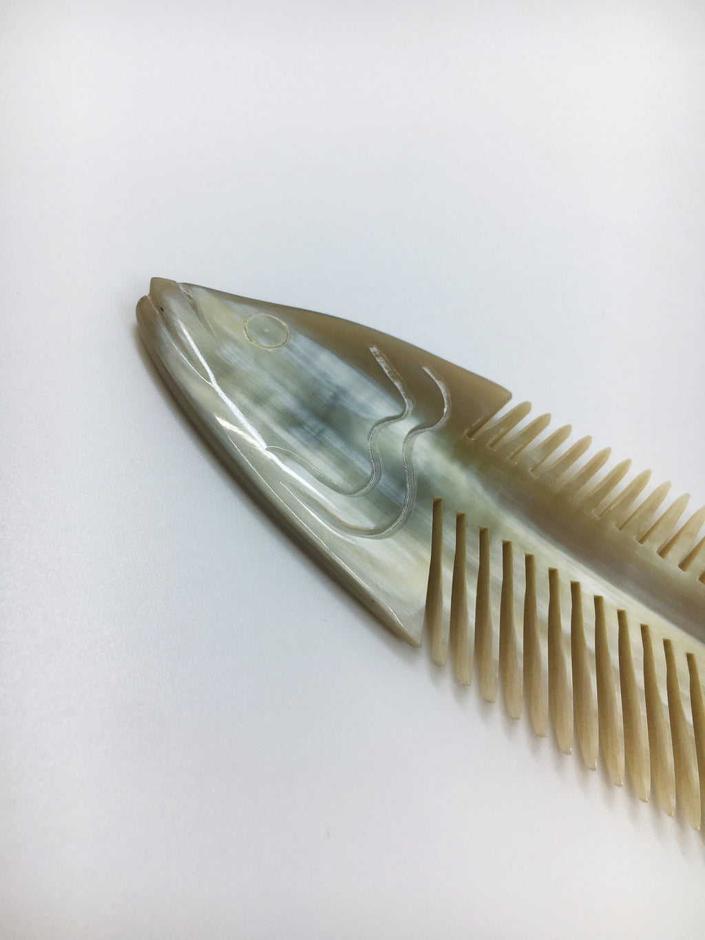 Fish Bone Hair Comb