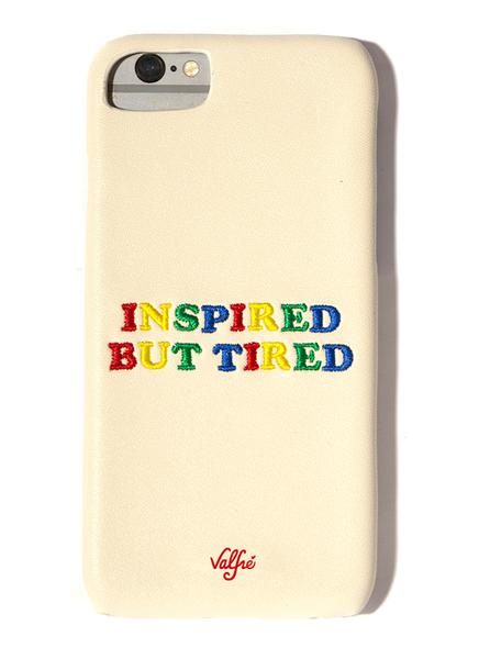 Inspired But Tired - Phone Case