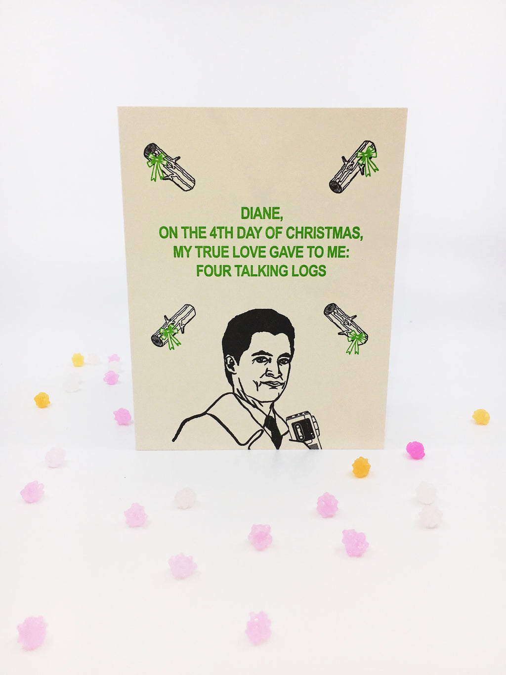 Agent Dale Cooper Holidays - Greeting Card