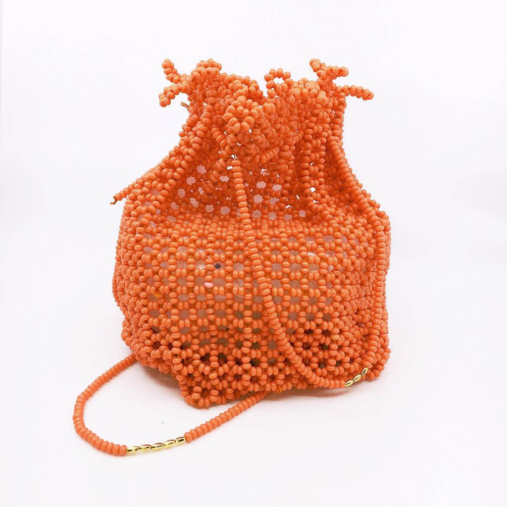 Clementine Beaded Bag