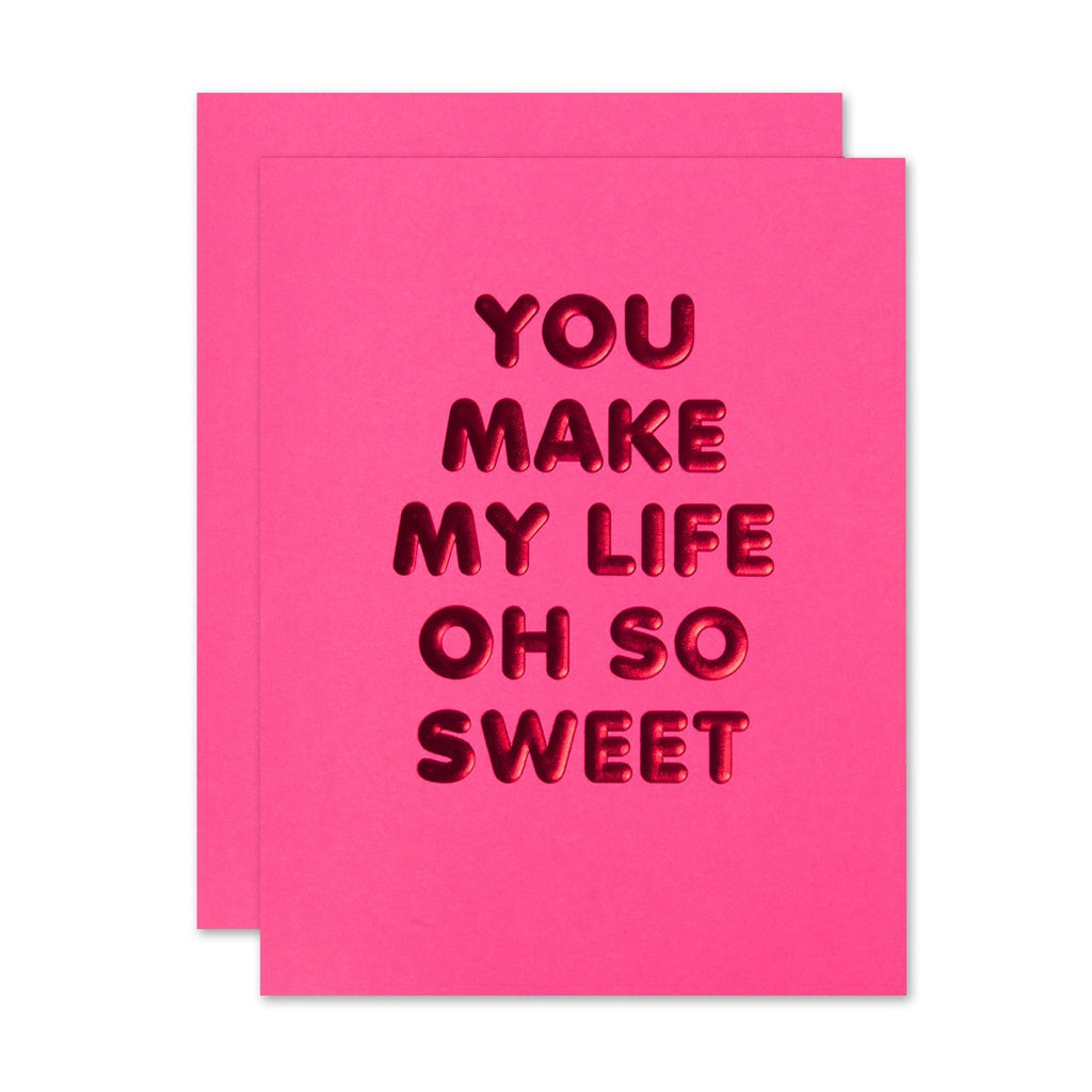 Oh So Sweet - Greeting Card