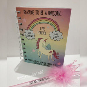 Notebook - Reasons to be a unicorn