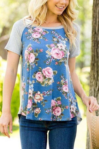 As Beautiful as Flowers Tee