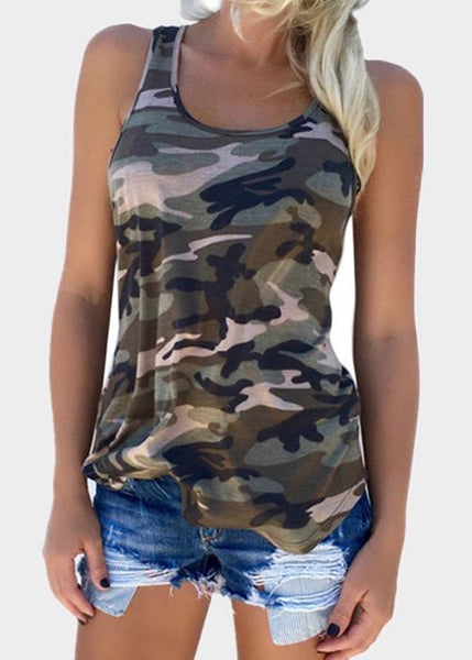 Just Like Camouflage Vest
