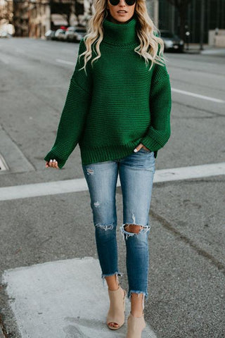 Christmas Color Cotton Sweater