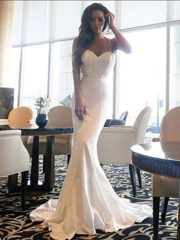 Women Spring Trumpet Dress Off The Shoulder Backless Sexy White Party Dress