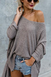 Asymmetric Beauty Loose Sweaters